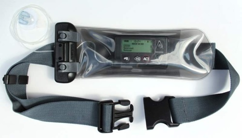 AQUAPAC 158 Microphone/Insulin Pump Case